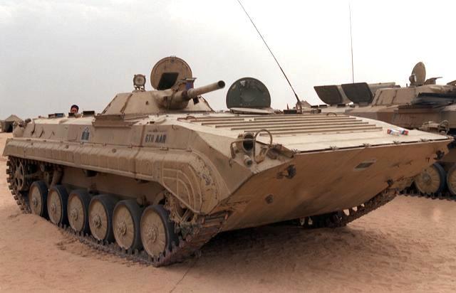 苏联БМП-1(BMP-1)步兵战车
