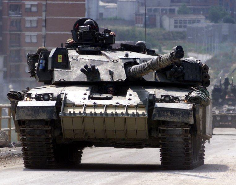 英国挑战者主战坦克