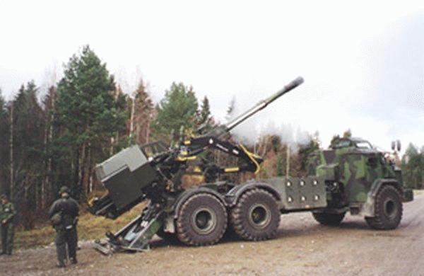 مدفعية جديدة خفيفة الوزن Fh77bgun