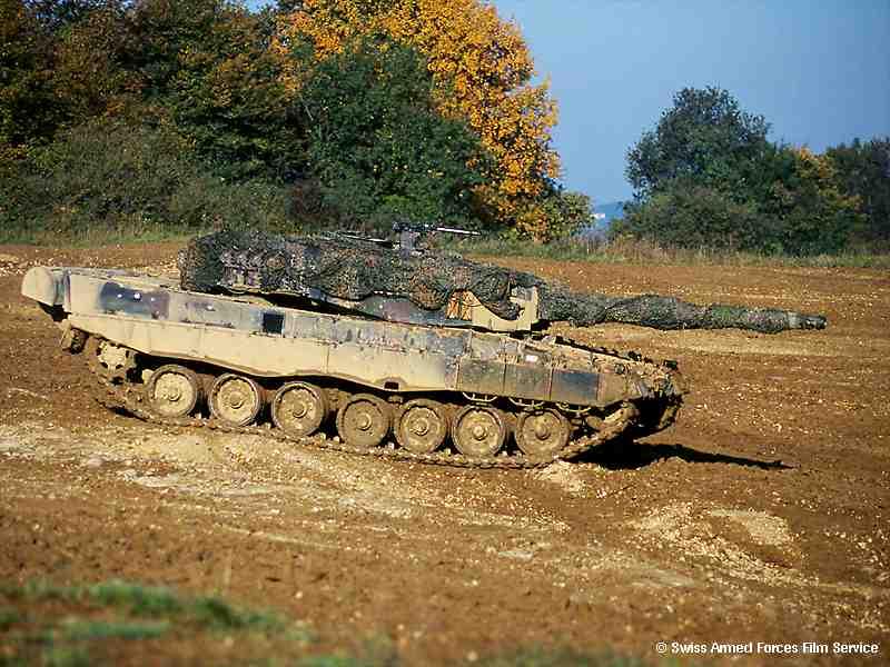 瑞士Pz87豹式主战坦克