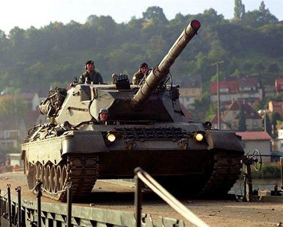 Battle Tank Leopard 1 A5 Kampfpanzer Leopard 1 A5