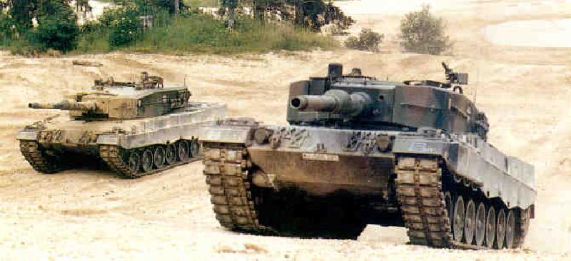 Battle tank Leopard 2 Kampfpanzer Leopard 2