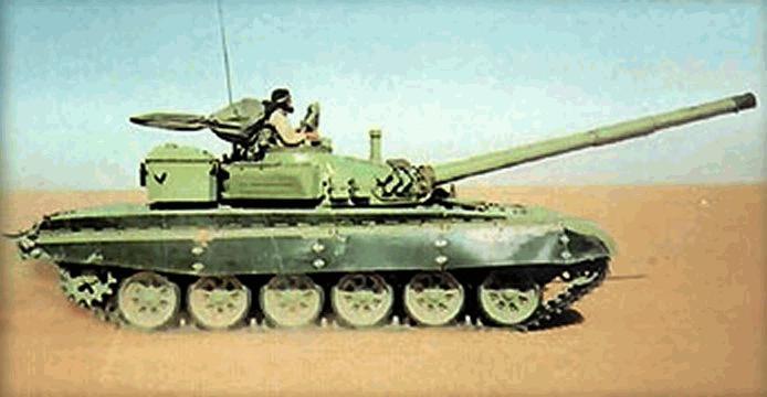 南斯拉夫M84坦克