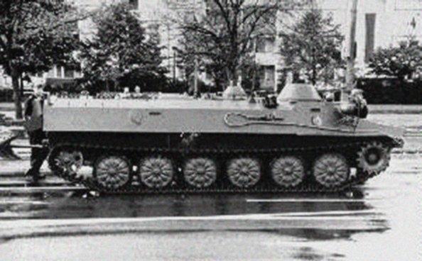 Mt Lb Multipurpose Armoured Vehicle