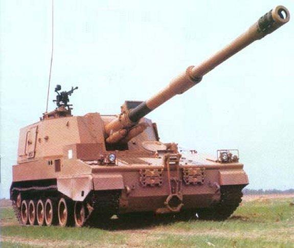 systèmes d'artilleries autotractés et autopropulsés Plz45-155sp-1