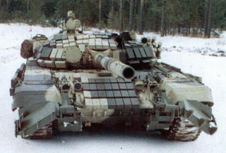 Le char russe T72
