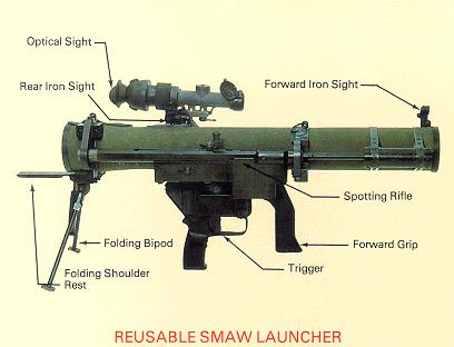 shoulder launched multipurpose assault weapon (smaw)