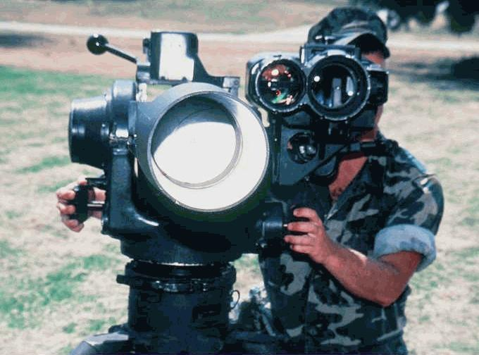 M-220 Tube-launched, Optically tracked, Wire-guided missile (