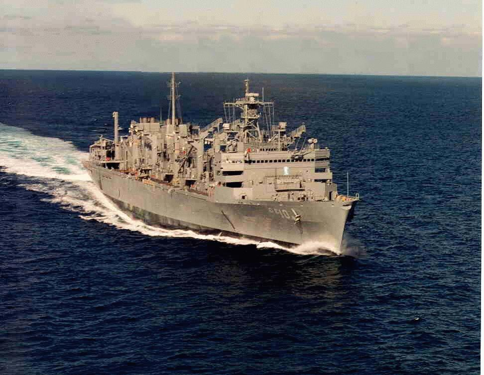 AOE 6 Supply Fast Combat Support Ship - Navy Ships