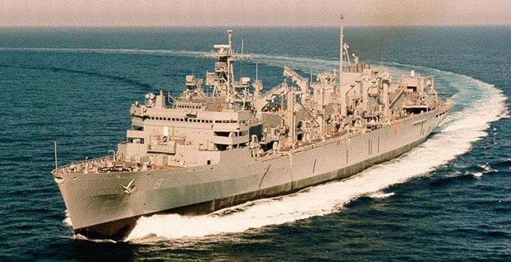Aoe 6 Supply Fast Combat Support Ship Navy Ships