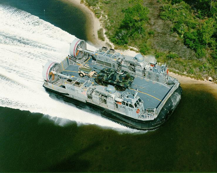 Landing Craft, Air Cushion - Navy Ships