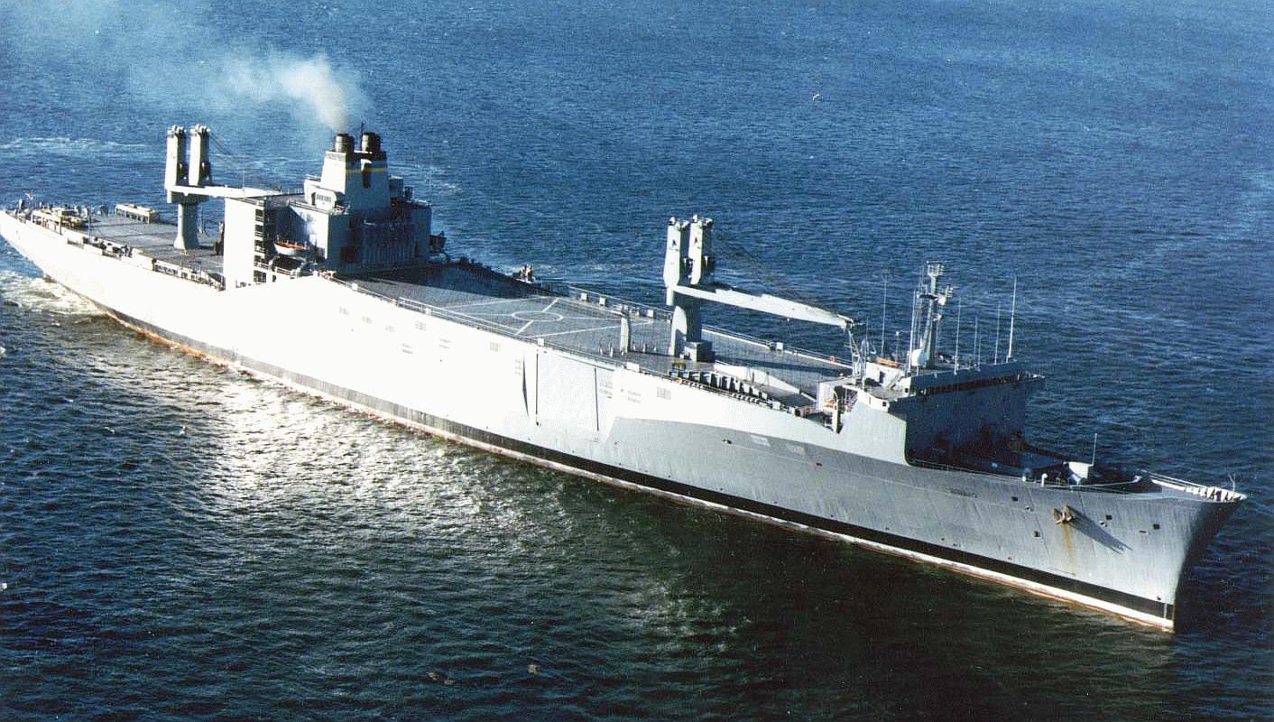 T-AKR 287 Algol SL-7 Type Fast Sealift Ships - Navy Ships