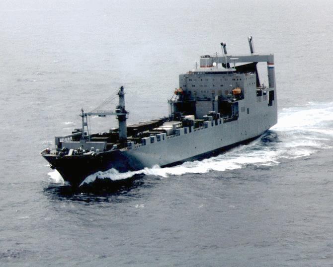 T-AKR Cape RO/RO - Navy Ships