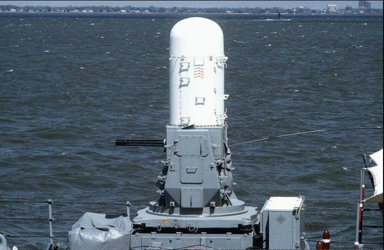 Mk 15 Phalanx Close In Weapons System Ciws