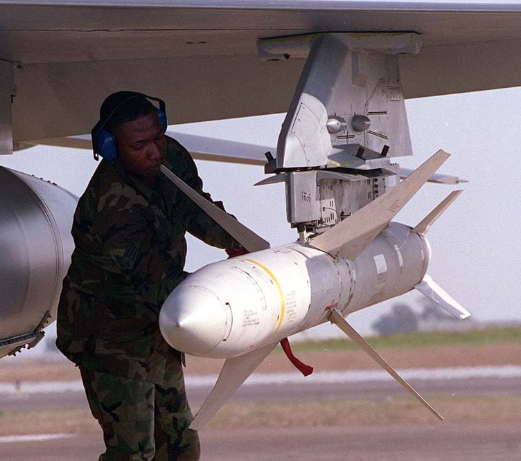 Agm 88 Harm High Speed Antiradiation Missile Smart Weapons